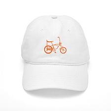 Retro Orange Banana Seat Bike Baseball Baseball Cap