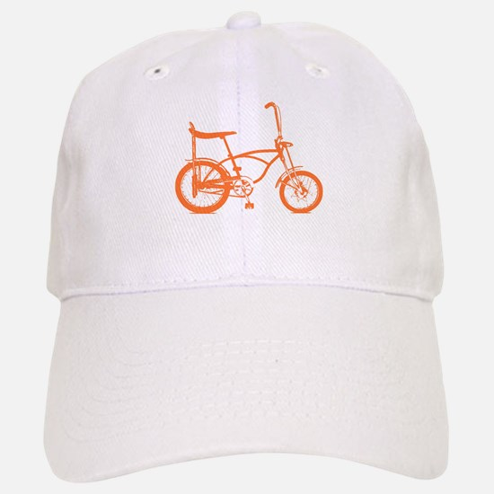 Retro Orange Banana Seat Bike Hat