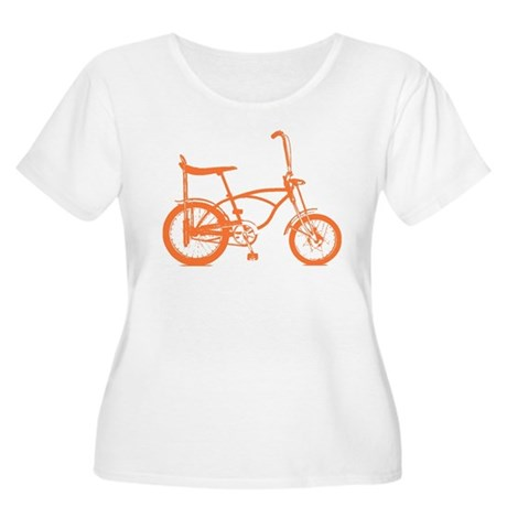 Retro Orange Banana Seat Bike Women's Plus Size Sc
