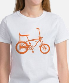 Retro Orange Banana Seat Bike Tee