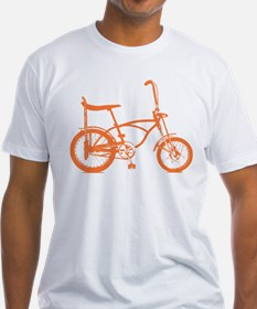 Retro Orange Banana Seat Bike Shirt