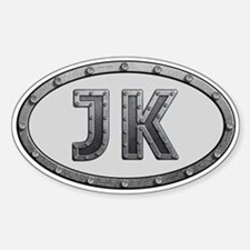 JK Metal Decal