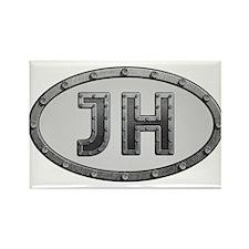 JH Metal Rectangle Magnet