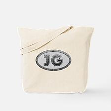 JG Metal Tote Bag