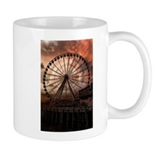 The Seattle Pier in Red Mug