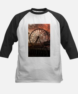 The Seattle Pier in Red Tee