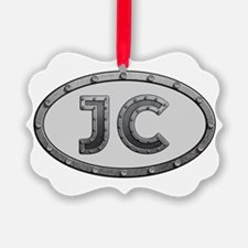 JC Metal Ornament