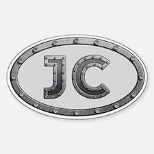 JC Metal Decal