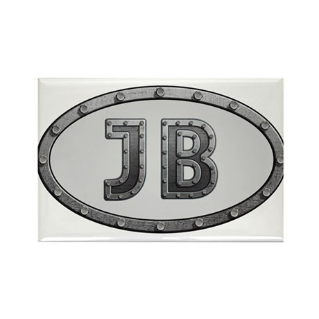 JB Metal Rectangle Magnet
