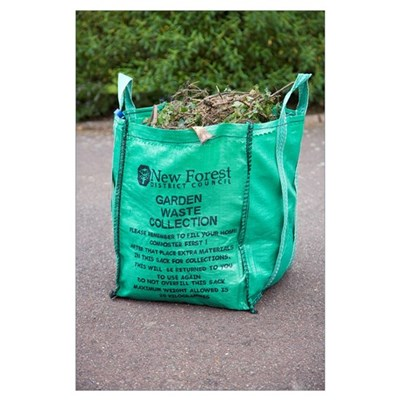 Garden waste recycling Poster