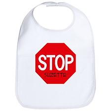 Stop Suzette Bib