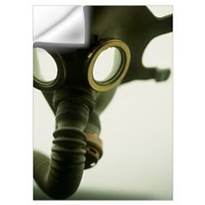 Gas mask Wall Decal