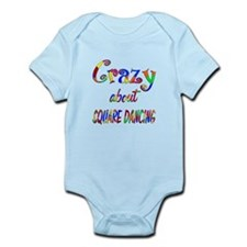 Crazy About Square Dancing Infant Bodysuit