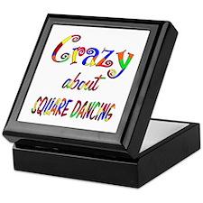 Crazy About Square Dancing Keepsake Box
