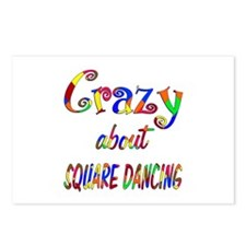 Crazy About Square Dancing Postcards (Package of 8
