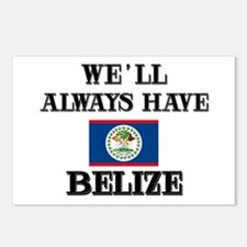 We Will Always Have Belize Postcards (Package of 8