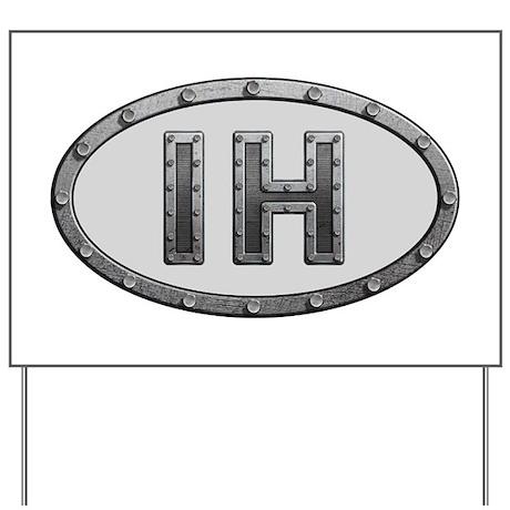 IH Metal Yard Sign