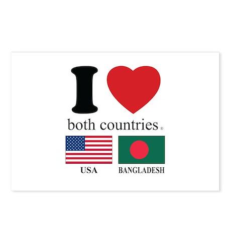 USA-BENGLADESH Postcards (Package of 8)
