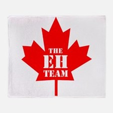 The Eh Team Throw Blanket