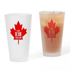 The Eh Team Drinking Glass