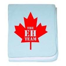 The Eh Team baby blanket
