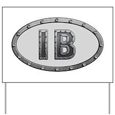 IB Metal Yard Sign