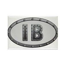IB Metal Rectangle Magnet