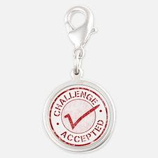 Challenge-Accepted-Round.gif Silver Round Charm