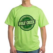 Wolf Creek Ski Resort Colorado Green T-Shirt