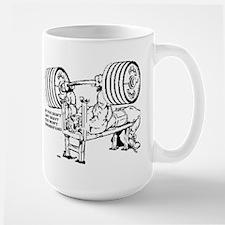LIFT HEAVY Mug