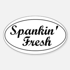 Spankin' Decal