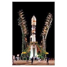 Globalstar satellite launch Poster