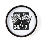 24/7 Racing Wall Clock