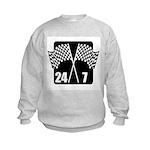 24/7 Racing Kids Sweatshirt