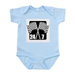 24/7 Racing Infant Bodysuit