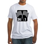 24/7 Racing Fitted T-Shirt