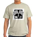 24/7 Racing Ash Grey T-Shirt