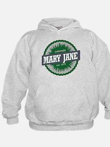 Mary Jane Ski Resort Colorado Green Hoodie