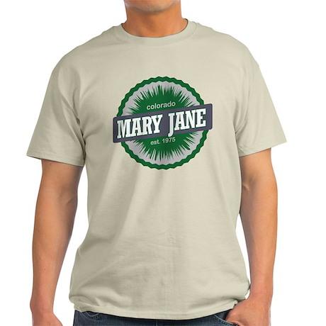 Mary Jane Ski Resort Colorado Green Light T-Shirt