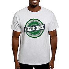 Beaver Creek Ski Resort Colorado Green T-Shirt