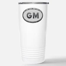 GM Metal Stainless Steel Travel Mug