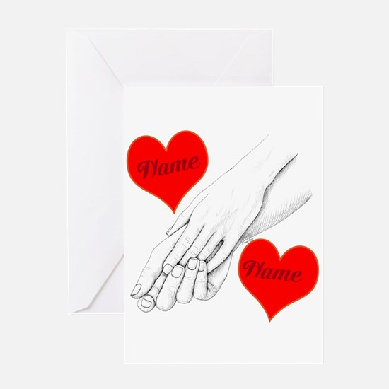Custom Romance Greeting Card