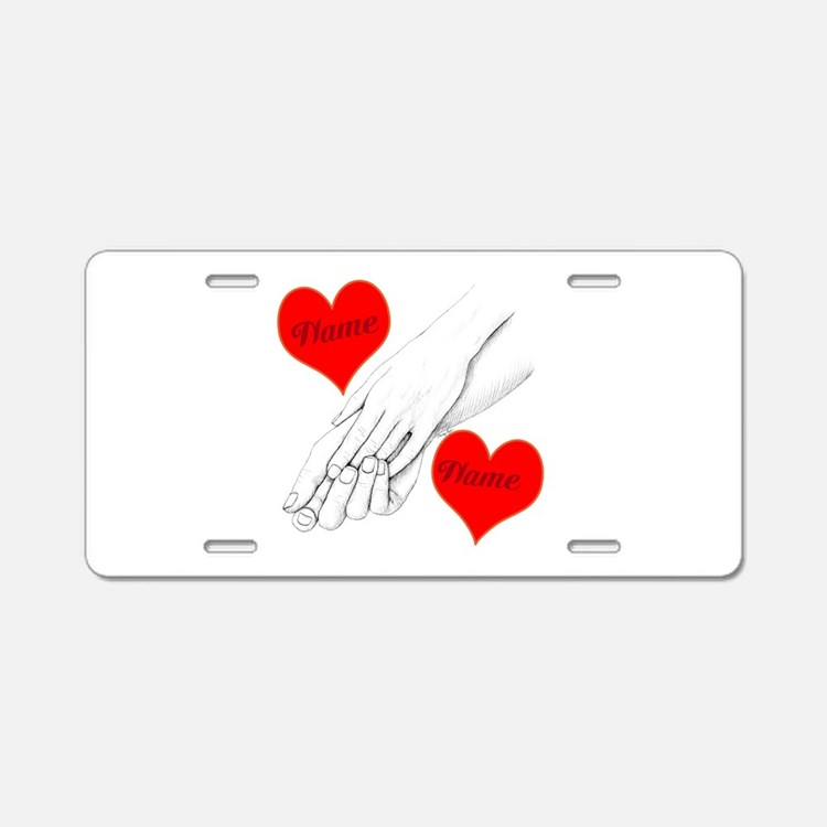 Custom Romance Aluminum License Plate