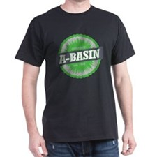 Arapahoe Basin Ski Resort Colorado Lime T-Shirt