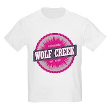 Wolf Creek Ski Resort Colorado Pink T-Shirt
