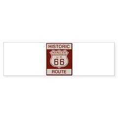 Rialto Route 66 Bumper Sticker