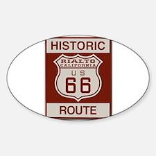 Rialto Route 66 Decal