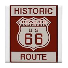Rialto Route 66 Tile Coaster