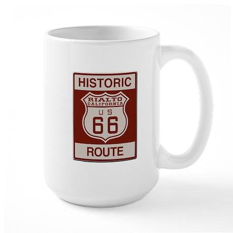 Rialto Route 66 Large Mug