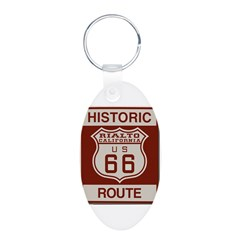 Rialto Route 66 Keychains
